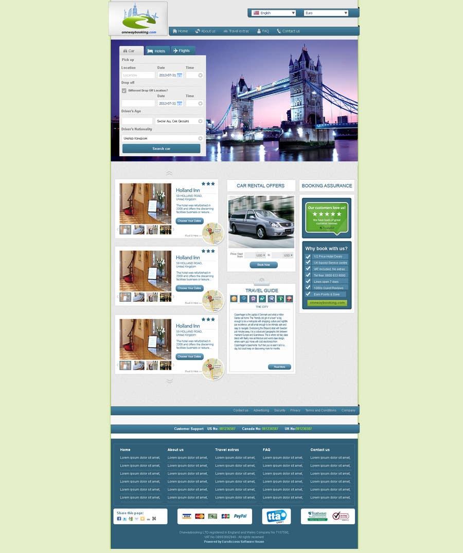 Konkurrenceindlæg #8 for Design a Website Mockup for Landing Pages