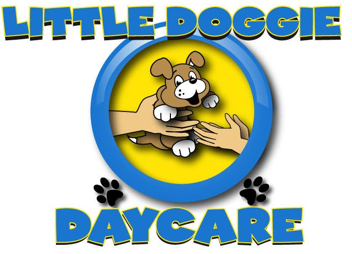 "Inscrição nº 9 do Concurso para Graphic Design for ""Little Doggie Daycare"""