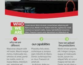 #23 for Design a Brochure For CCRT Communciations / CCRT STUDIOS by futuredesign94