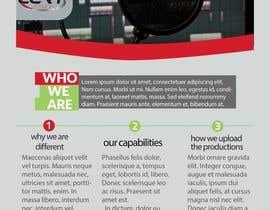 #25 for Design a Brochure For CCRT Communciations / CCRT STUDIOS by futuredesign94