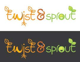 "anamiruna tarafından Design a Logo for Online Health Food Store - Organic food  ""Twist and Sprout"" BIG bonus for awesome designs - and future WORK için no 13"