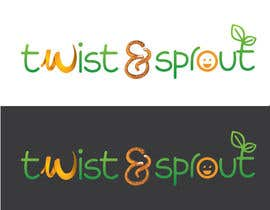 "anamiruna tarafından Design a Logo for Online Health Food Store - Organic food  ""Twist and Sprout"" BIG bonus for awesome designs - and future WORK için no 20"