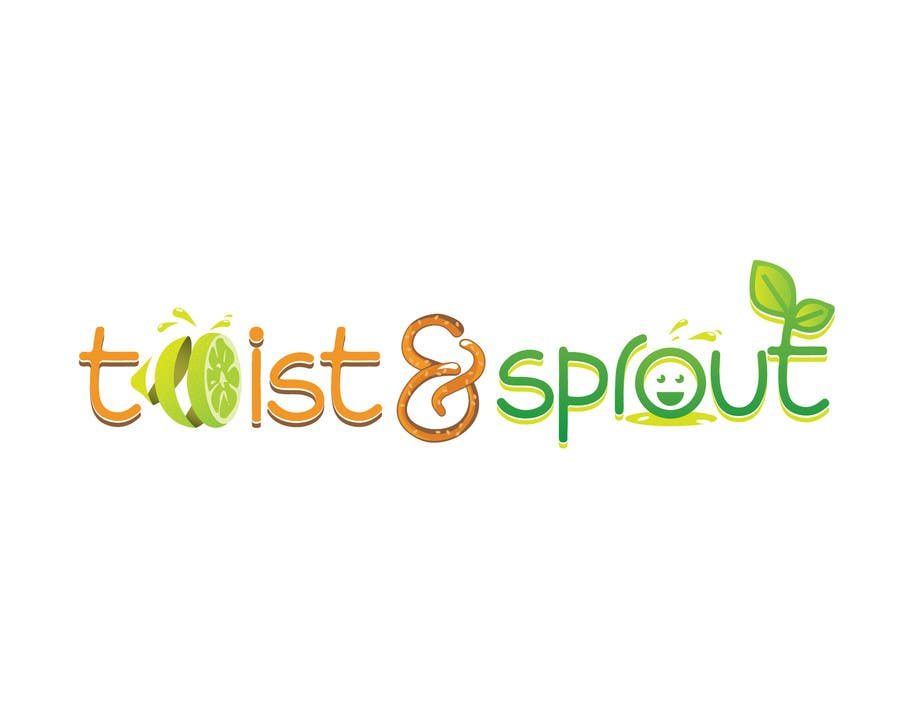 "#21 for Design a Logo for Online Health Food Store - Organic food  ""Twist and Sprout"" BIG bonus for awesome designs - and future WORK by anamiruna"