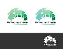 "#42 para Design a Logo for Uniform Company ""Uniforms 4 Nurses, by Nurses"" (clothing company) por Blissikins"