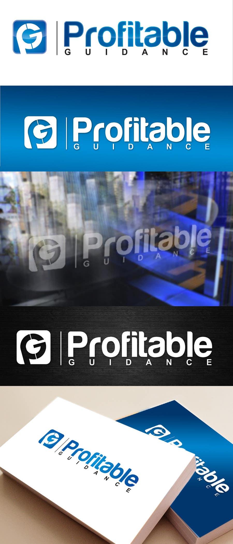 #158 for Design a Creative Logo for www.profitableguidance.com by ajdezignz