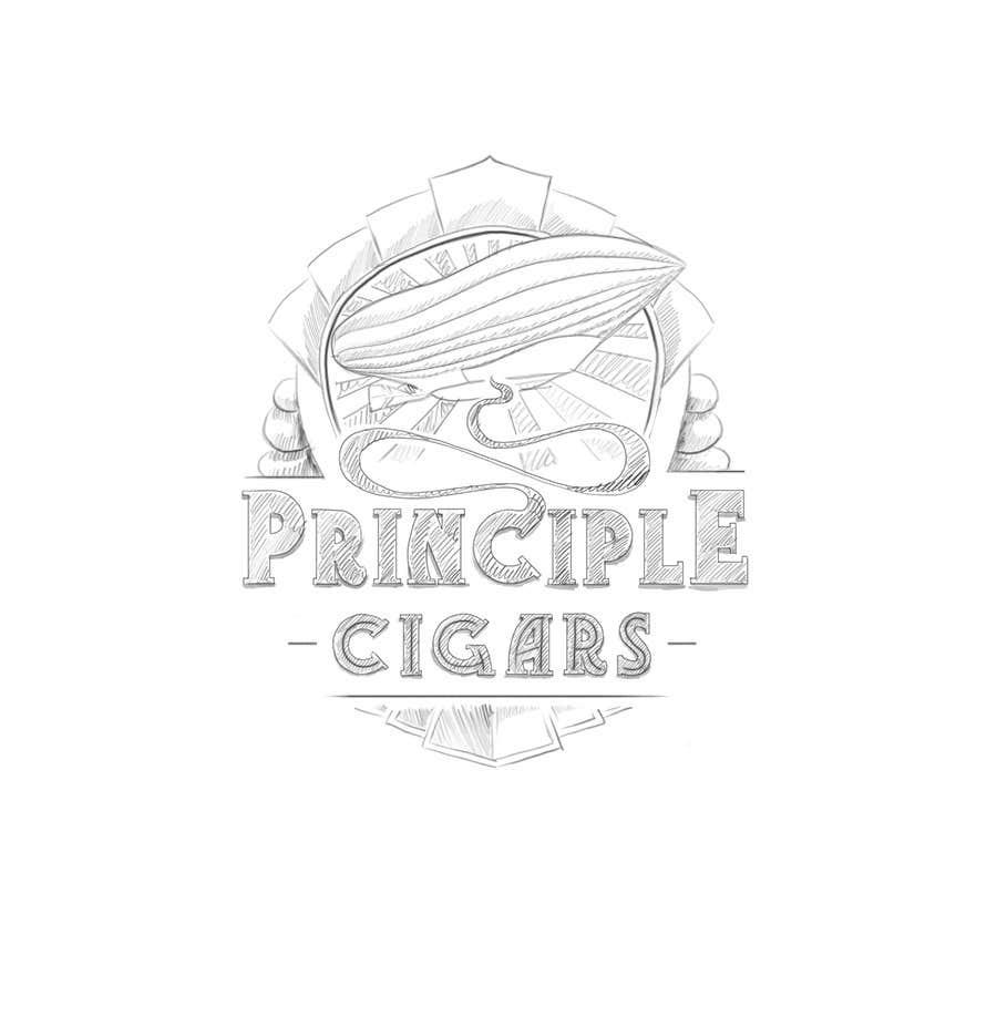 Penyertaan Peraduan #91 untuk Design a CIGAR Band/Logo/Label - Aviation Theme