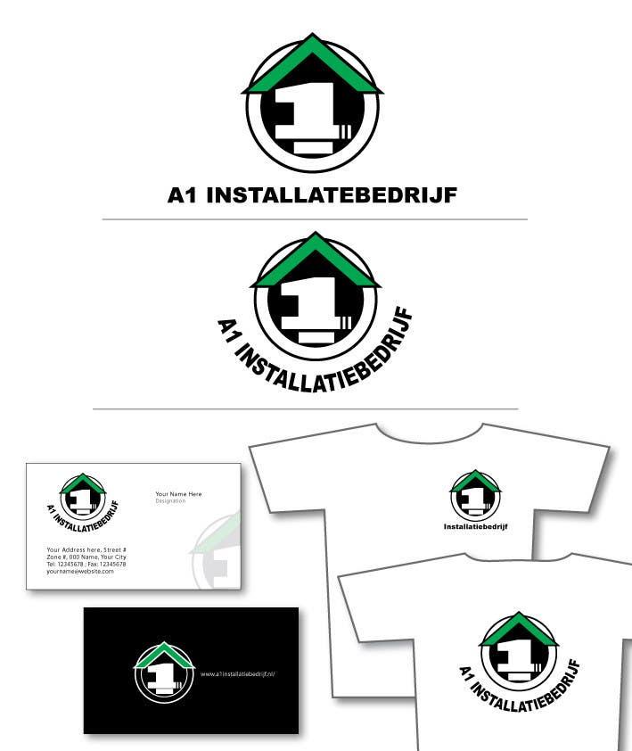 Konkurrenceindlæg #                                        3                                      for                                         Logo for A1 Installatiebedrijf