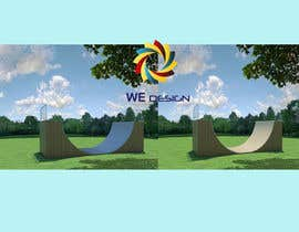 nº 3 pour Design a Mini Skate ramp par wedesign99