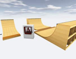 #9 for Design a Mini Skate ramp by ArchAndreev
