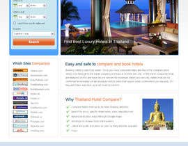 #8 untuk Design a website to use HotelsCombined white label oleh uniqueclick