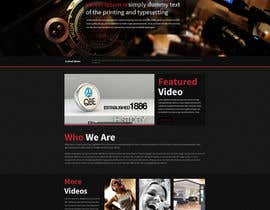 #6 para Design a Website Mockup for a film & video production company por tania06