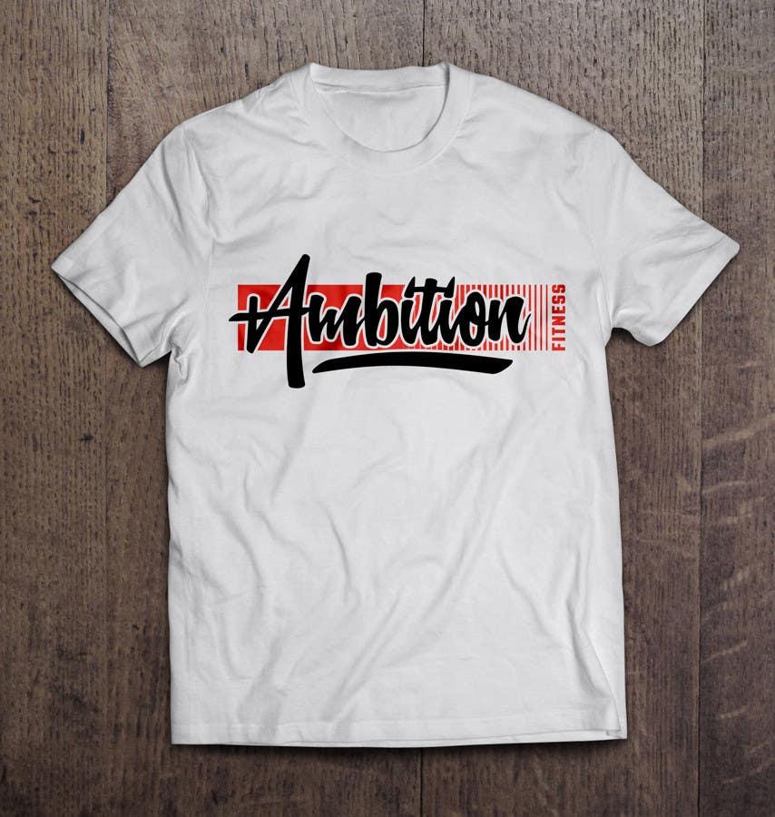 Entry #17 by azarroazar for Modern T-Shirt Design Fitness Based ...