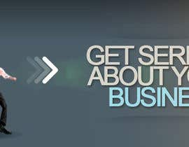 #23 para Design a Banner for a website that does business and management coaching por dindinlx