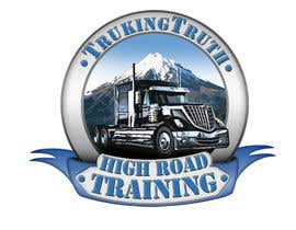 #140 for Design a Logo for TruckingTruth.com High Road CDL Training Program by OmB