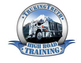 #142 para Design a Logo for TruckingTruth.com High Road CDL Training Program por OmB