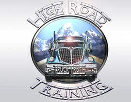 #98 para Design a Logo for TruckingTruth.com High Road CDL Training Program por ilocun14