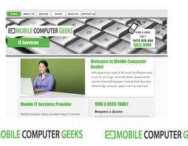 #34 untuk Design a Logo for mobile computer geeks oleh mdsalimreza26