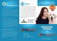 Graphic Design Inscrição do Concurso Nº4 para Design a Partnership Brochure for Off Leash K9 Raleigh and Pups Day Out