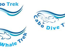 #43 untuk Design a Logo for Cabo Trek | Whale watching and more oleh lilybak
