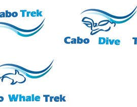 #44 para Design a Logo for Cabo Trek | Whale watching and more por lilybak