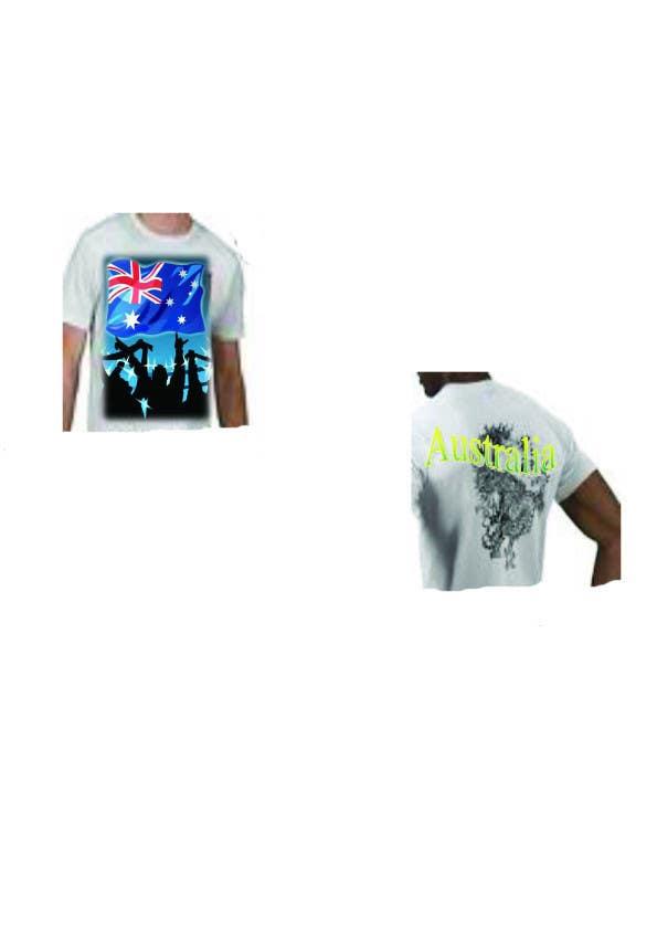 Konkurrenceindlæg #59 for T-shirt Design for Australian United Sportswear