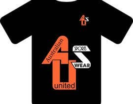 #51 para T-shirt Design for Australian United Sportswear de zackushka