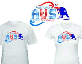 #54 para T-shirt Design for Australian United Sportswear de junaidaf