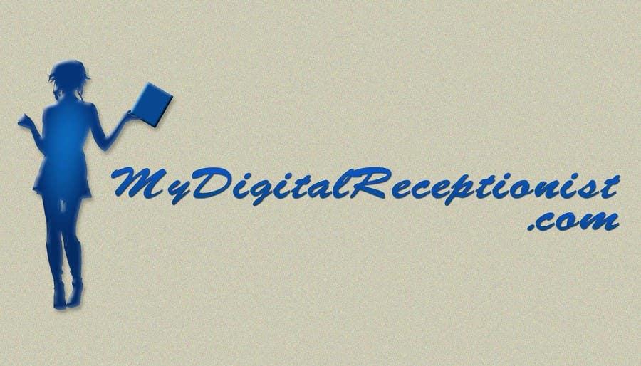 Penyertaan Peraduan #3 untuk Design a Logo for A Digital Receptionist Website ASAP!