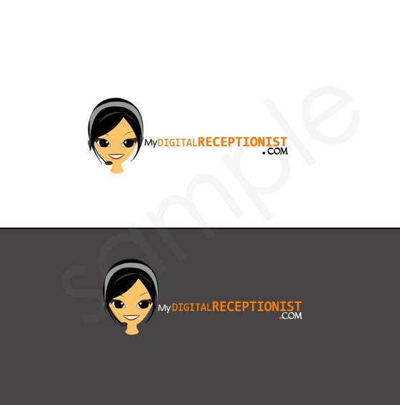 Penyertaan Peraduan #21 untuk Design a Logo for A Digital Receptionist Website ASAP!