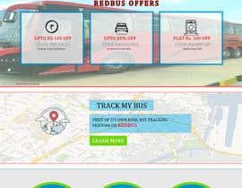 Nro 13 kilpailuun Create a website design for a travel portal käyttäjältä codegur