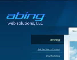 #127 para Logo Design for Abing Web Solutions, LLC por sukeshhoogan