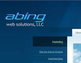 #128 para Logo Design for Abing Web Solutions, LLC por sukeshhoogan