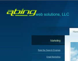 #106 para Logo Design for Abing Web Solutions, LLC por sukeshhoogan