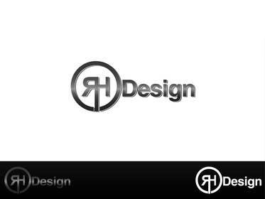 #40 para Design eines Logos for RH DESIGN por Abdulhadijatoi