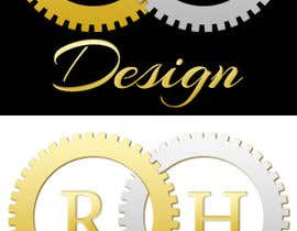 #11 para Design eines Logos for RH DESIGN por TemplateDigitale