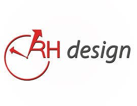 #3 para Design eines Logos for RH DESIGN por daveiant