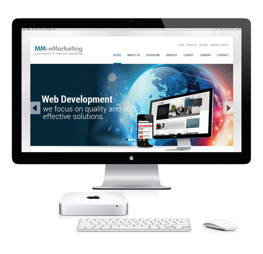 #27 for Design for a Marketing / Consulting website by geniedesignssl