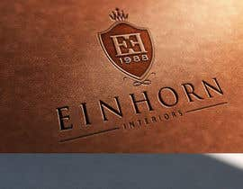 #190 for Design eines Logos for EINHORN Interiors by twindesigner