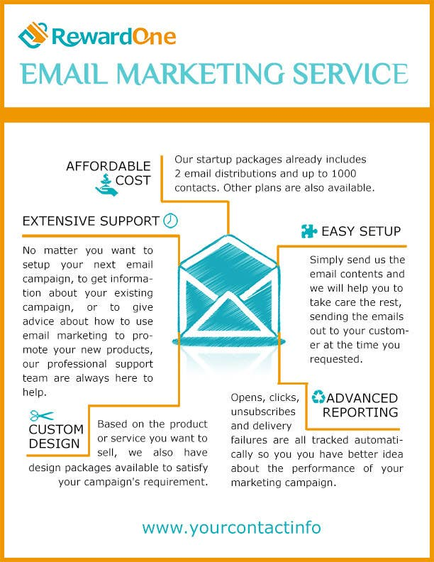 Entry #3 by rituhanda for Flyer design for email marketing service