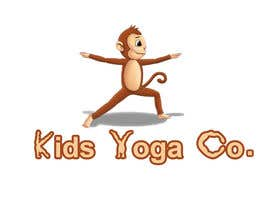 preethyr tarafından Design a Logo for Kids Yoga using Monkey için no 8