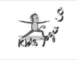 nº 51 pour Design a Logo for Kids Yoga using Monkey par mokshu2008