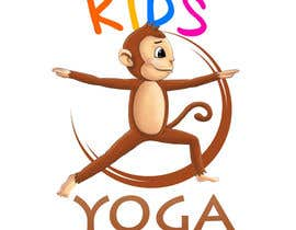 #54 untuk Design a Logo for Kids Yoga using Monkey oleh carsonarias
