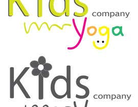 #64 para Design a Logo for Kids Yoga using your creativity por dragospanaitescu