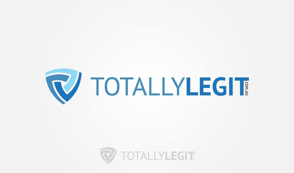 Kilpailutyö #52 kilpailussa Design a Logo for TotallyLegit.Com.Au