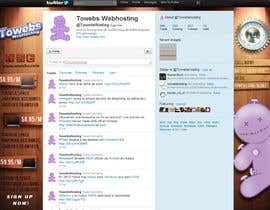 #29 untuk Twitter Background for towebs.com oleh pxleight