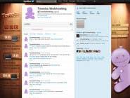 Graphic Design Kilpailutyö #19 kilpailuun Twitter Background for towebs.com