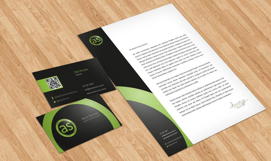 Bài tham dự cuộc thi #                                        4                                      cho                                         Design some Stationery for Amion Services