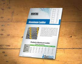 #7 for Design a Two Page Brochure for HIGHTAIL Ladders & Casters af xtreemsteel
