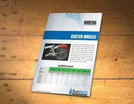 #8 para Design a Two Page Brochure for HIGHTAIL Ladders & Casters por xtreemsteel