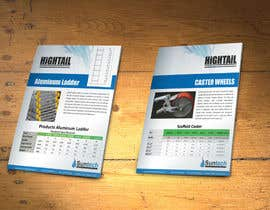 #10 cho Design a Two Page Brochure for HIGHTAIL Ladders & Casters bởi xtreemsteel